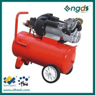 2.2KW 50L Portable Configuration and Lubricated Lubrication Style Direct driven air compressor 184015
