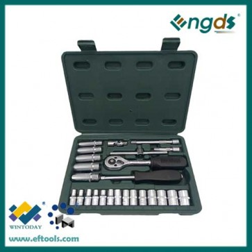 25pcs chrome vanadium socket set wrench set