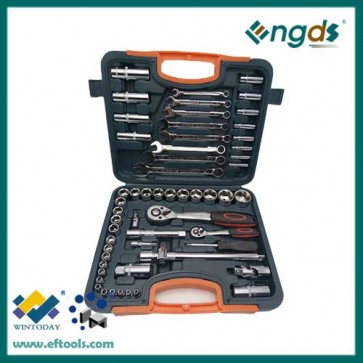 58pcs chrome vanadium spanner set combination spanner set