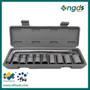 10PCS Carbon Steel Material Socket Set L Type wrench set