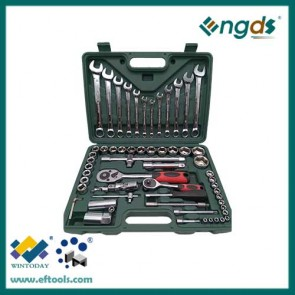 61pcs Carbon Steel Material and Combination Wrench Type Combination Spanner Wrench set