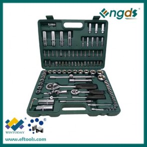 94pcs Carbon Steel Material and CRV material Wrench Set Type hex key wrench set