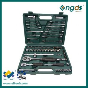 78pcs set tooling socket wrench set spanner set