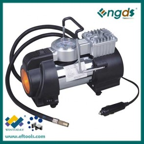 14A 12 volt air compressor with LED light for car and truck 360014