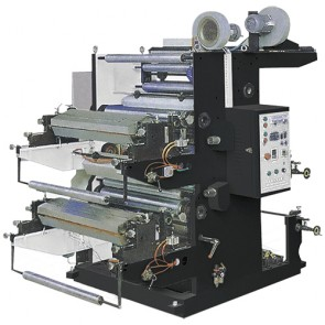 stack type flexographic machine